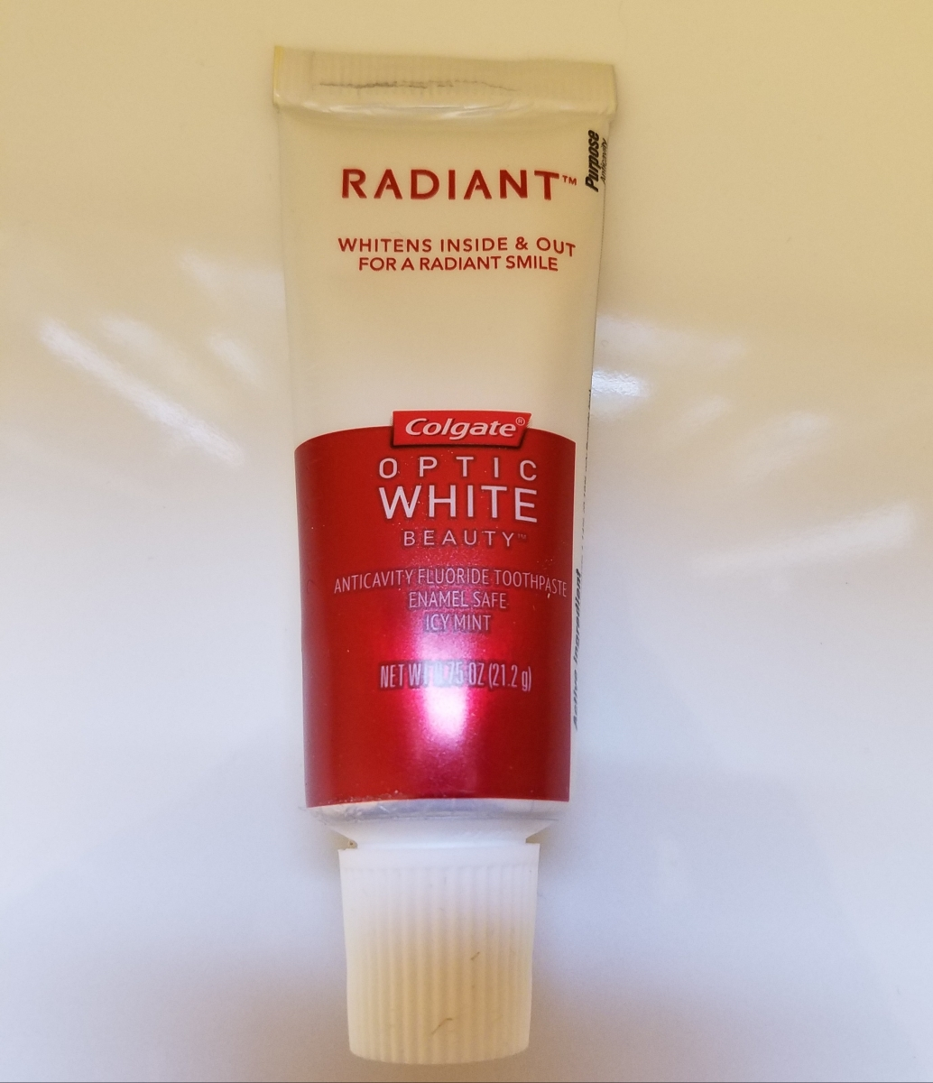 Colgate Optic White Radiant Toothpaste Review