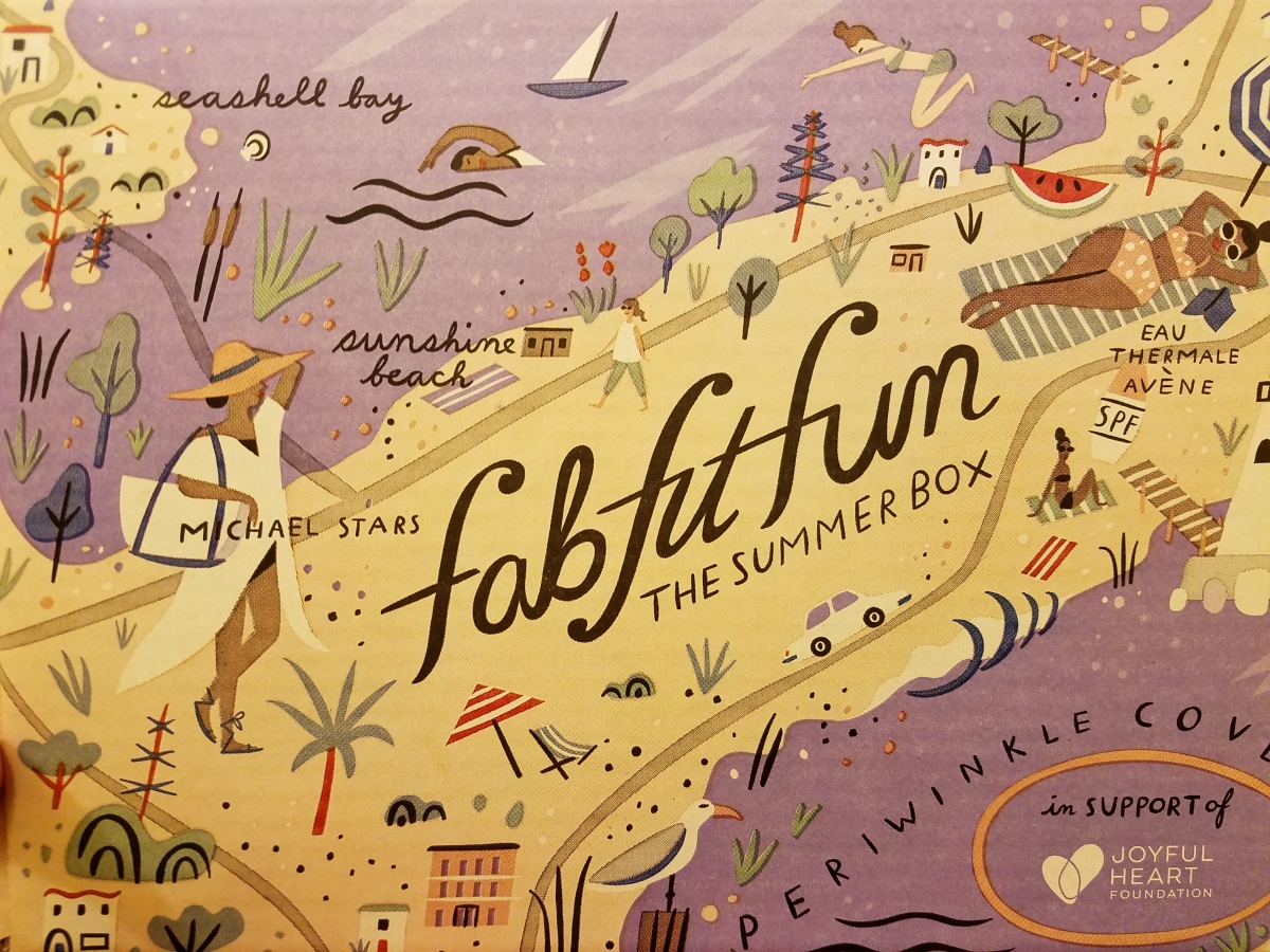 FabFitFun Summer 2017 Box - Video and Coupon!